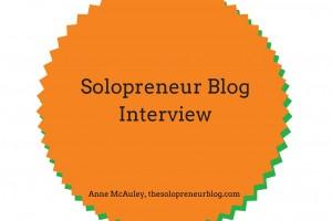 Solopreneur Blog Interview Nellie Akalp